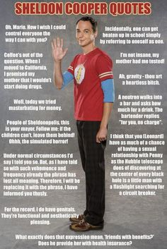 Sheldon Quotes - www.funny-pictures-blog.com