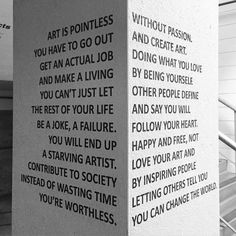 Perspectives of art