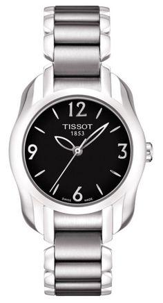 e9e3b510d1d1b Tissot T-Wave Round T023.210.11.057.00 Silhuetas, Florais, Relógios Legais