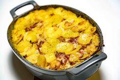 stuttgartcooking: Sauerkraut-Kartoffel-Auflauf Potato Dishes, Potato Recipes, Vegetable Recipes, Cooking Tips, Cooking Recipes, Healthy Recipes, A Food, Food And Drink, One Pot Dinners