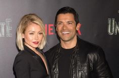 """Kelly Ripa and Mark Consuelos rang in 21 years of marriage the same day the """"Live"""" star named Ryan Seacrest as her new co-host."""