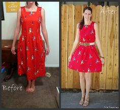 dress refashion--Need to find some ugly dresses!