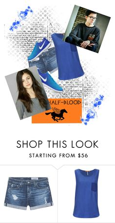 """""""Begin to be Bold and Venture to be Wise"""" by nickel-007 ❤ liked on Polyvore featuring AG Adriano Goldschmied, BOSS Orange and NIKE"""