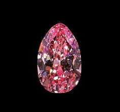 """""""Pink Diamond"""" from the DeYoung Collection on display at the Smithsonium."""