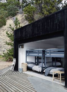 Both a family retreat and a guest house for hire, Summer House sits on its own private island off the coast of mainland Tasmania. Cabana, Country Boutique, Haus Am See, Deco Studio, Outdoor Baths, Turbulence Deco, Modern Bunk Beds, Farmhouse Remodel, Beach Shack