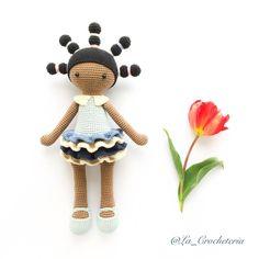 """""""Y aquí está mi moñitos! . Fue amor a primera vista.  Patrón: Candice doll by Dudu toy factory #amigurumi #amigurumis #amano #artesanal #artesania…"""""""
