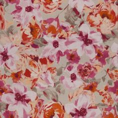 Monsoon Collection by Chivasso COLOURFUL GARDEN CH2779/060