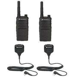 2 Pack Motorola Radios with Speaker Mics: Two-pack of Motorola radios with speaker mics. Each radio comes complete with a single-unit charger, 15 hour lithium ion battery pack, swivel belt holster and warranty. 10 Person Tent, Electronics For You, Gift Store, Car Audio, Radios, Cover Up, Packing, The Unit, 1 Year
