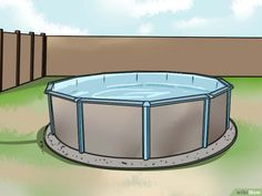 Me Creating A Privacy Fence Privacy Fence For Above Ground Pool