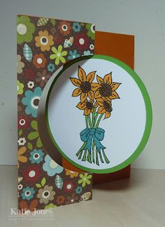 Crafting with Katie: Circle Swing Card