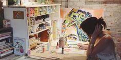 """Oregon-based illustrator Katie Daisy is the artist behind the popular line of inspirational prints sold on her Etsy shop, The Wheatfield by Katie Daisy. In this original short film from """"Super Soul Sunday"""" on OWN, Daisy gives viewers a glim..."""