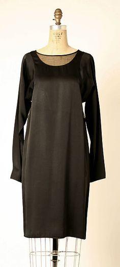 Dress, silk and synthetic, Geoffrey Beene designer, American, 1980s