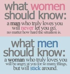 Quote on Men and Women