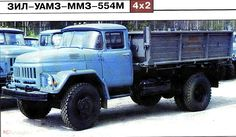 49 Самосвал ММЗ 554М на шасси Зил 495810