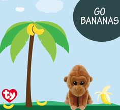 Don't make Monroe the gorilla go bananas! Play with him today!