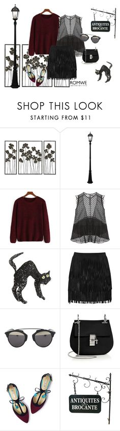 """""""Knit sweater"""" by nefeliecr ❤ liked on Polyvore featuring Universal Lighting and Decor, Gama Sonic, Isabel Marant, Pier 1 Imports, Alice + Olivia, Christian Dior, Chloé and Boden"""