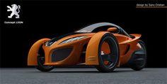 Peugeot, Future Auto, LiiON, Futuristic Design, Futurism