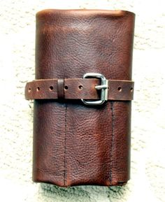 Leather Pencil Roll Zenfishleather.com