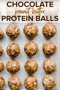Recipes Snacks Protein I have a delicious meal prep snack recipe: chocolate peanut butter protein balls. This protein balls recipe is crazy good! It's a low calorie snack that tastes like a Reese's peanut butter cup! Pancakes Protein, Protein Cupcakes, Protein Pudding, Protein Desserts, Protein Bites, Protein Cookies, Protein Recipes, Healthy Protein Balls, Hi Protein Meals