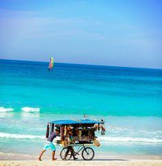 Varadero,Cuba- One day I will be here where my grandfather was born Beautiful Islands, Beautiful World, Beautiful Places, Places To Travel, Places To See, Travel Destinations, Varadero Cuba, Cuba Beaches, Cruise Port