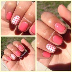 Sensational gel polish Past Curfew and White Lily #nails @SensatioNail