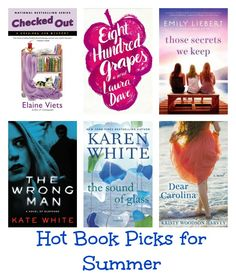 Hot Book Picks for Summer | MomTrends - excited to see Dear Carolina among these!