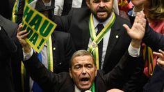Diputados votan sobre juicio político a presidenta de Brasil