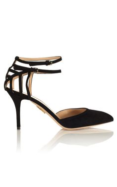 From The Social Shopper: Like Mother, Like Daughter Charlotte Olympia Aranea D'orsay, $895