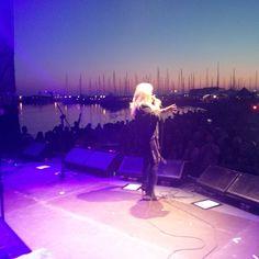 Bonnie Tyler - By Matt Davis #bonnietyler #gaynorsullivan #gaynorhopkins #thequeenbonnietyler #therockingqueen #rockingqueen #music #rock #2013 #concert #rome #harleydavidson #mattdavis