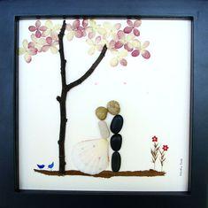 pebble art wedding - Google Search