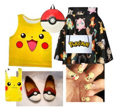 """""""Pokèmon!"""" by oonasmck on Polyvore featuring O-Mighty"""