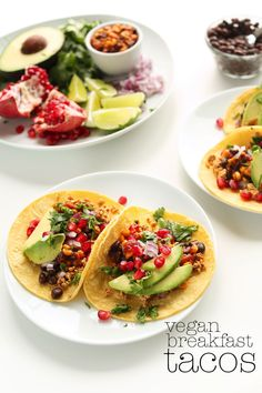 Easy 30 minute Vegan Breakfast Tacos!! so easy, fast and delicious!