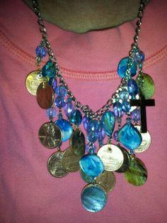 Pennies from heaven necklace Pennies From Heaven, Jewelry, Jewlery, Jewerly, Schmuck, Jewels, Jewelery, Fine Jewelry, Jewel