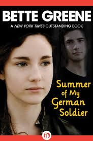 Summer of My German Soldier by Bette Greene -- This young adult book is so good that anyone of any age can enjoy it. Set during WWII, an Arkansas girl befriends an escaped German POW. Free Books, Good Books, My Books, National Book Award, Historical Fiction, Read Aloud, Books Online, Childrens Books, Reading
