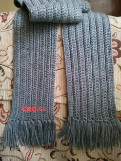 Crochet In Egypt: Scarf For Men and Women 2