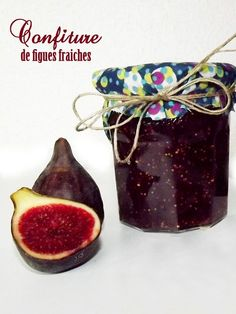 Confiture de figues fraiches Chutney, Cooking Humor, Fig Jam, Dessert Recipes, Desserts, Cooking Time, Sweet Recipes, Jelly, Mason Jars
