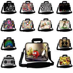 College Student Laptop Computer Shoulder Strap Bag 11.6 17 15 13 10 12 14 14.1 13.3 Inch Notebook Messenger Cases Fruit Pattern #Affiliate