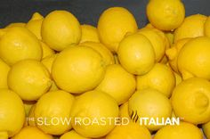 The Best Way to Preserve Lemons - Freezing method