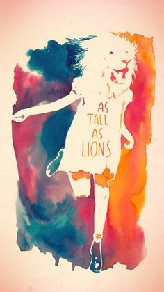 As tall as lions