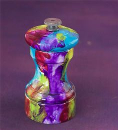 1000 images about handpainted pepper mills on pinterest Funky salt and pepper grinders
