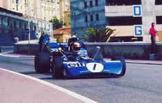 Monaco Grand Prix, Jackie Stewart (Tyrrell) by retroraces Jackie Stewart, Jochen Rindt, Mario Andretti, Sport One, Monaco Grand Prix, Formula 1 Car, F1 Drivers, Indy Cars, Car And Driver