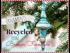 Hometalk :: 17 Repurposed Christmas Crafts - Great Ideas for Holiday Decorating! :: Donna's clipboard on Hometalk