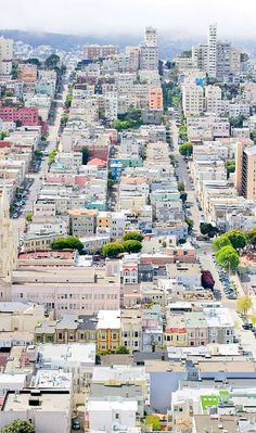 San Francisco from Telegraph Hill, California, U.S