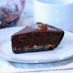 No Bake Turtle Pie - Pretzel Recipes curated by SavingStar. Save money on your groceries with eCoupons at savingstar.com