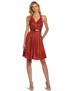 Suzi Chin Women's Halter Sleeveless Dress  where can i find dresses  http://wherecanifinddresses.com