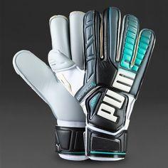 Puma Goalkeeper Gloves - Puma evoSPEED 3.3 GC Aqua - Goalie Gloves - Goalkeeping…