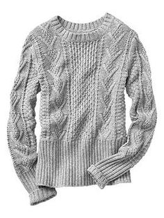 Cable knit sweater | Gap