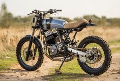 Image result for enduro cafe racer conversion