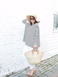 Hatch Collection striped top | theglitterguide.com
