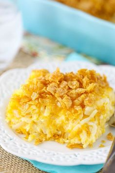 This Cheesy Hashbrown Casserole is one of my very favorite things to make and eat – especially at holidays! The mix of salty and sweet is amazing! Plus, it's so easy to throw together. Post updated 12/14/16. I've been making this casserole for many years. I first time I had it was when a family …